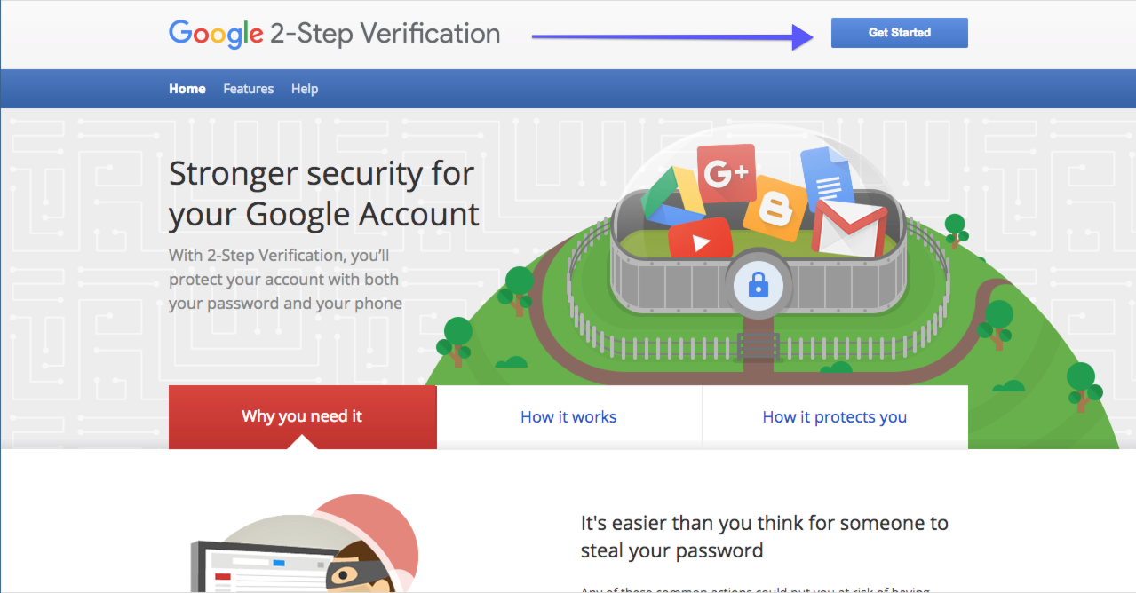 Set Up Gmail Two-Step Authentication – Outreach Support