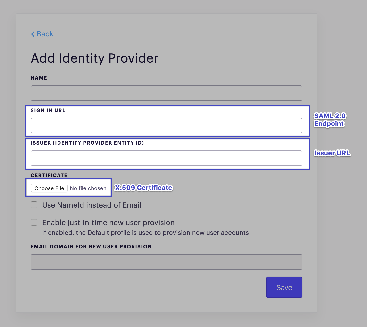 Setting up Single Sign On (SSO) with Salesforce – Outreach Support